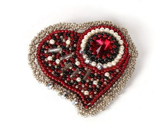 "Brooch ""Heart"""