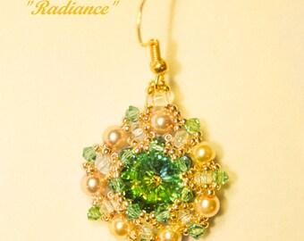"""Tutorial for earrings """"Radiance"""""""