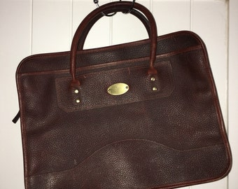 Ruby Leather Businuess Bag