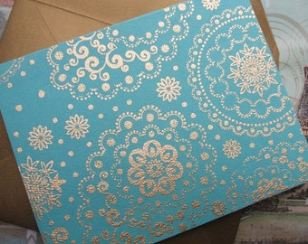 Greeting Cards - India - (Set of 10)