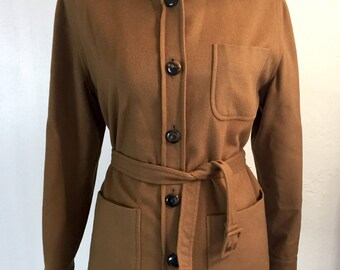 Ritz saddler camel Coat Vintage/giacca