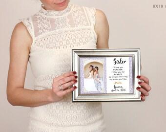 Best Friend Wedding Gift, Best Friend Thank You Gift Wedding, Gift For Best Friend Of The Bride, Custom Wedding Gift