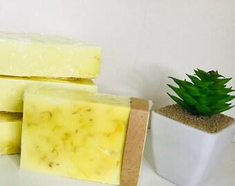 Lemon Calendula Soap