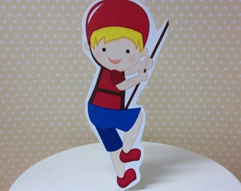 Rock Climbing Party Cake Topper Decoration