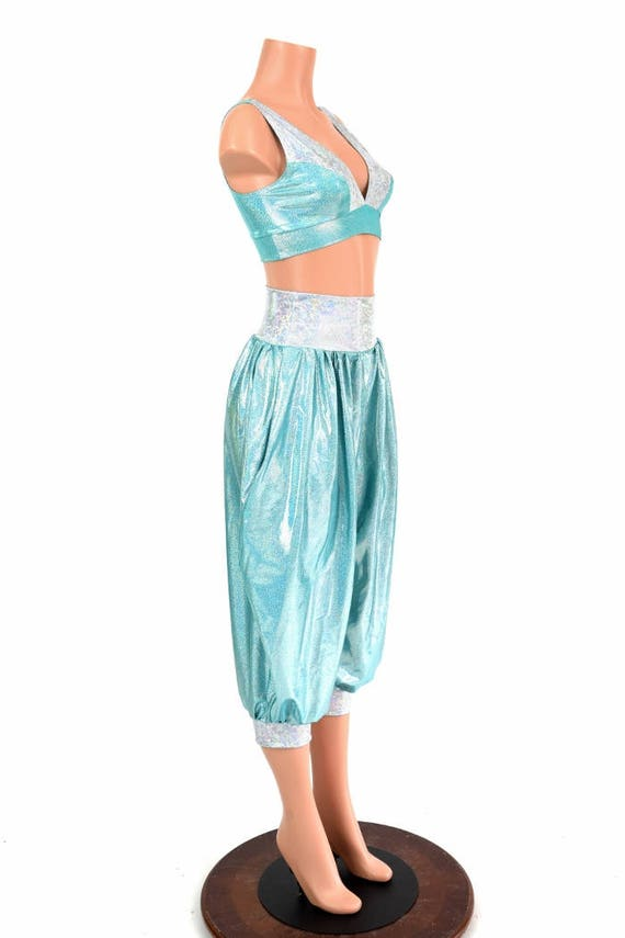 Genie Princess Costume Seafoam
