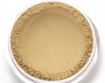 Mattifying Mineral Primer and Finishing Veil - Sheer Tan - Net Wt 7g Jar - Vegan for oily skin
