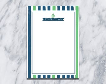 Sail boat Thank you Cards/ Train Stationery