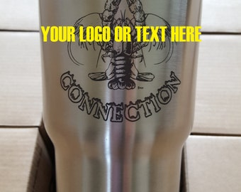 Laser Engraved RTIC Cup, 30 ounce insulated, stainless steel, with lid, better than YETI, for groomsman, businesses by jackglass on etsy