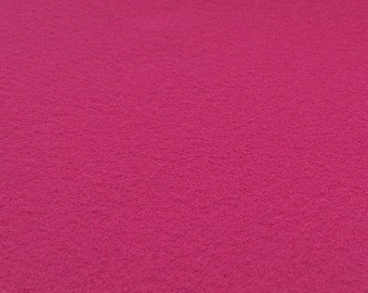 Fuchsia Pink Felt Sheets - 6 pcs - Rainbow Classic Eco Fi Craft Felt Supplies