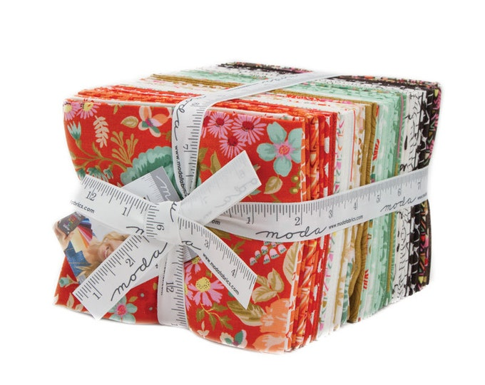 Featured listing image: Meraki Fat Quarter Bundle, 34 Fat Quarters, Meraki by BasicGrey for Moda Fabrics, Full Collection, 30490AB