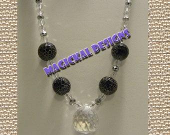 Midnight Stars - Necklace, Earrings, & Bracelet Set