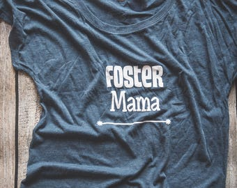 Foster Care T-shirt, Adoption, Foster Care, Foster Mama