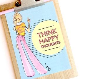 Fashion Print, motivational print, desk decor, fashion illustration, motivational quote