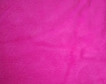 Solid Pink Fleece Fabric