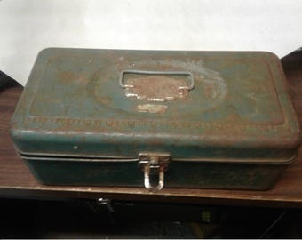 Union Tackle Box, fishing gear, metal tackle box, tool box