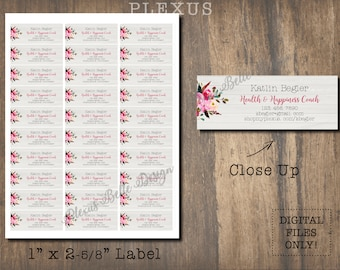 Follow Your Arrow - Plexus - Printable Label Design - DIGITAL FILES ONLY - Custom - Worldwide - Slim - Address - Mailing - Swag
