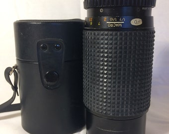 Lot of 2 vintage macro camera lenses for parts/ crafts