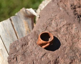 Redwood Wave Ring