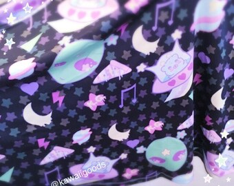 Trixie the alien skirt, Fairy Kei Skirt, Kawaii Skirt