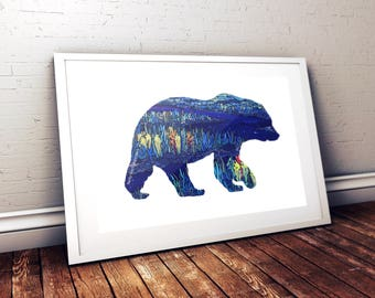 Bear River Print