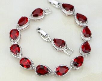 Red Stones Bracelet
