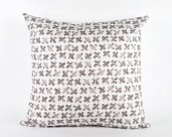 Stone Crosses Watercolor Pillow Cover