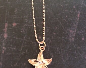 Rose Gold Necklace - Rose Gold Necklace Dainty - Rose Gold Jewelry - Rose Gold Jewlery - Rose Gold Jewerly - Starfish Necklace - Starfish