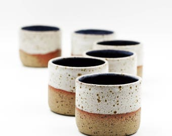 Hand Thrown Handmade 3.5 oz Ceramic Espresso Cups,House warming Gift, Foodie Gift, Tumbler, Macchiato cup