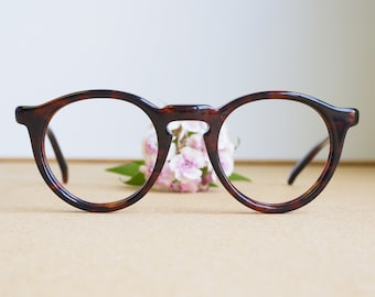 Vintage May Optical Eyeglasses 1970s/Glasses/Safety Glasses/Made in USA/hipster/Frames Made In USA Mansfield Style Tortoiseshell Rare 44-22