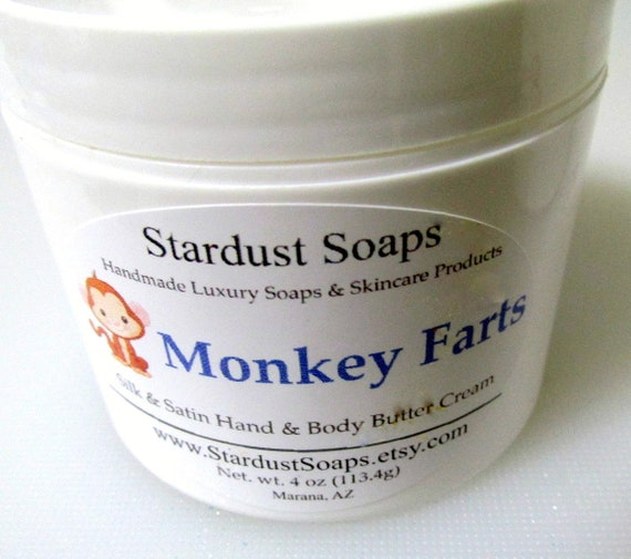 Monkey Farts Jar Cream