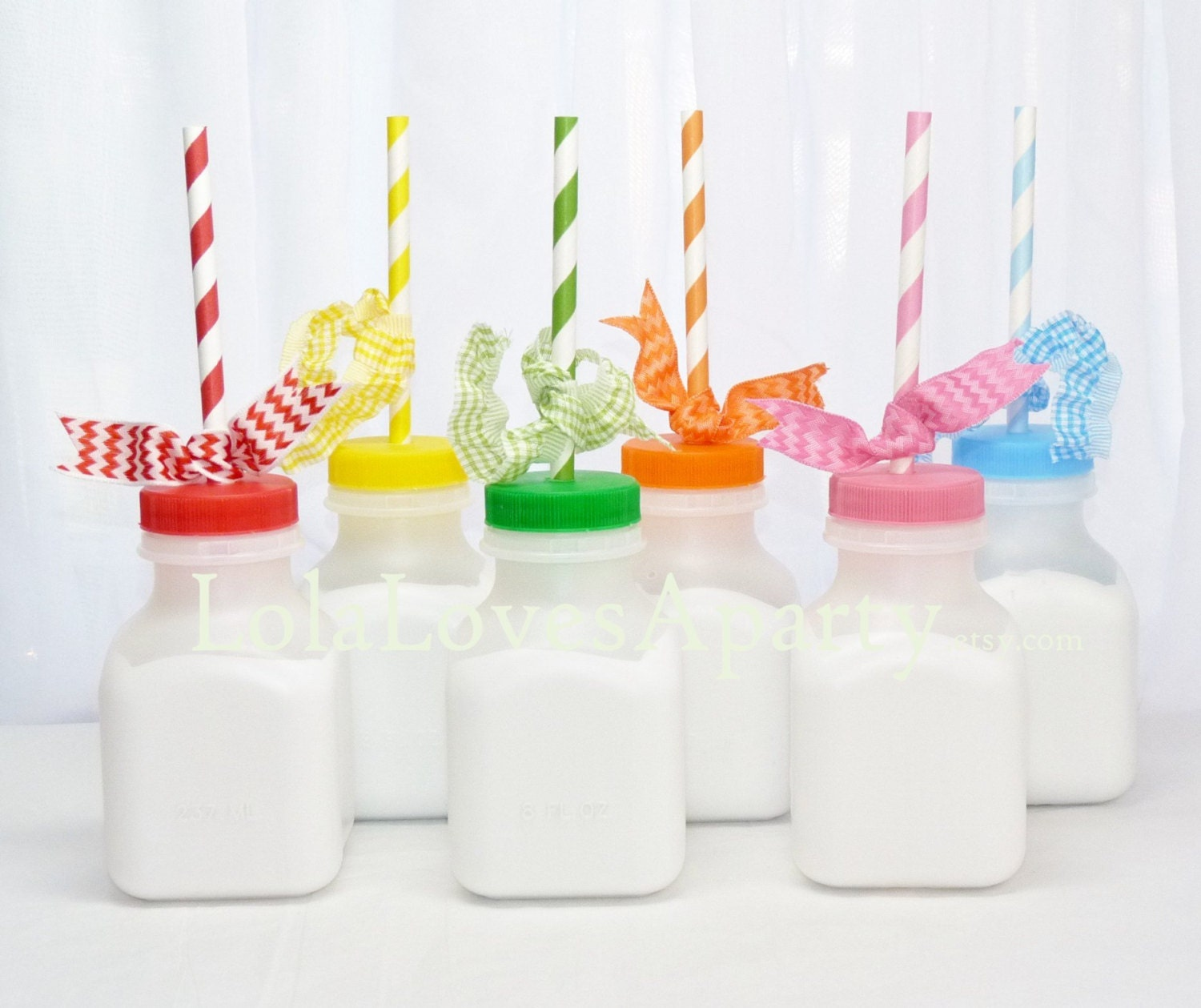Plastic Old Fashioned Milk Bottles