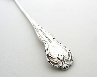 Vintage English Silver Plated Pickle Fork