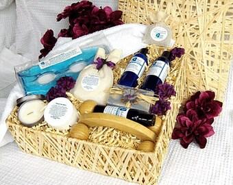 Sympathy Spa Gift Basket