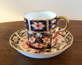 Royal Crown Derby Imari coffee cup/can