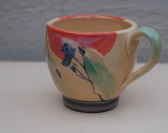 Porcelain Hand Painted Mug