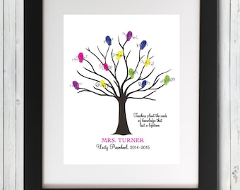 Fingerprint Trees Guestbooks Signs by PartyOf5Printables ...