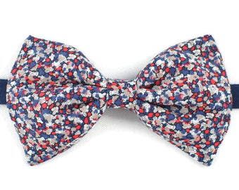Bowtie Liberty Blue and Red Pepper