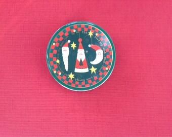 Christmas Coasters Santa Tin Susan Zulauf