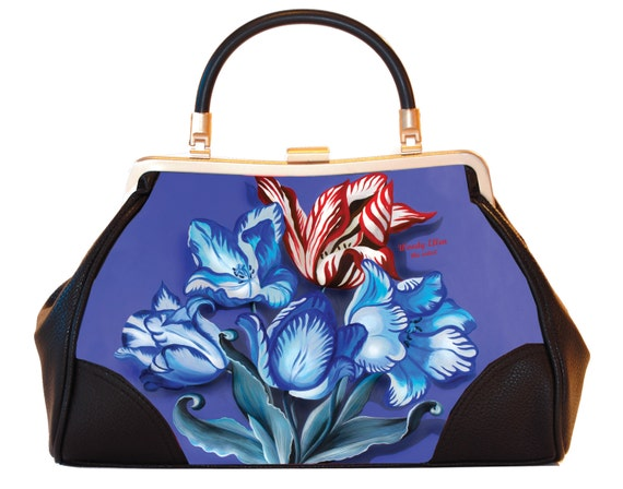 Retro handbag, vintage handbag, porcelain, Christmas gift, gifts for her, gift mom, Woody Ellen bag, Christmas gift ideas, Rockabilly bag