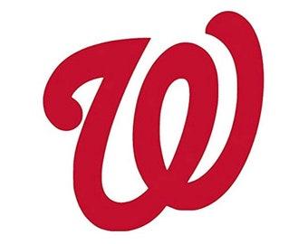 WASHINGTON NATIONALS vinyld decal