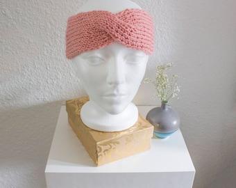 Millennial Pink Twisted Headband