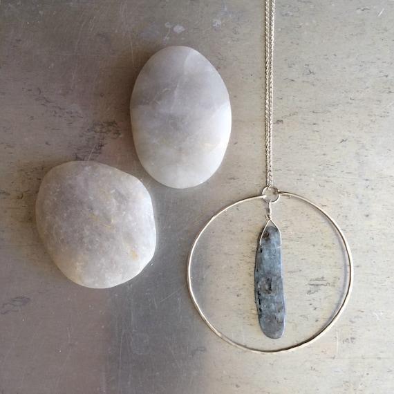 Silver Circle Kyanite