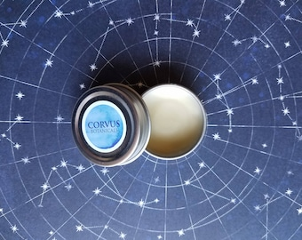 ECLIPSE Lip Balm/ Unscented / 100% Natural/ Local Beeswax/ Eco Friendly Tin/ Handmade/ Lip Butter/ Chapped Lips/  Gift