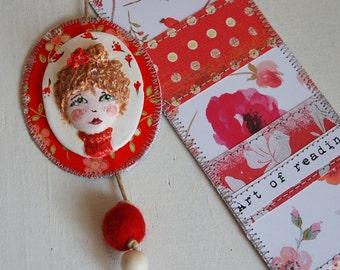 Bookmark - Miss Lili - customizable