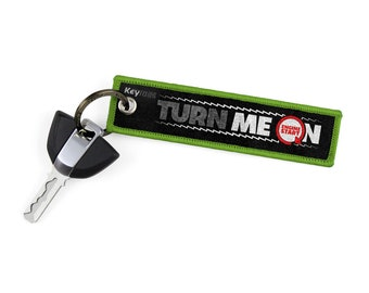 Turn Me On Ride Me Key Tags by KeyTails Bmw S1000 rr Ducati Ktm gsxr cbr Ninja Yamaha Honda Kawasaki Suzuki Motorcycle Keyring Keychain