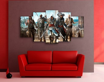 Assassin's Creed wall art, Assassin's Creed canvas, Assassin's Creed print