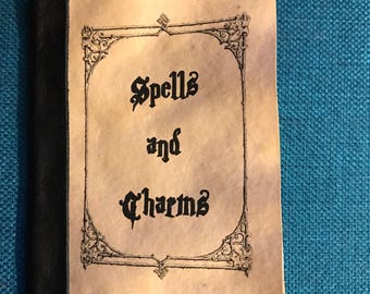 Harry Potter Charms and Spell Book