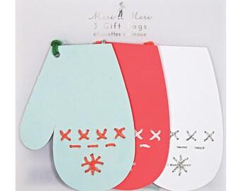 Meri Meri: Stitched Mitten Gift Tags