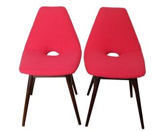 Restored Magenta chair.