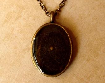 Mustard Seed Necklace - Antique Brass Mustard Seed Necklace - Mustard Seed Jewelry - Mustard Seed Necklace - Mustard Seed Faith Jewelry